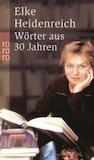 Buchcover Heidenreich Woerter aus 30 Jahren