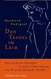 Radiguet, Raymond: Den Teufel im Leib