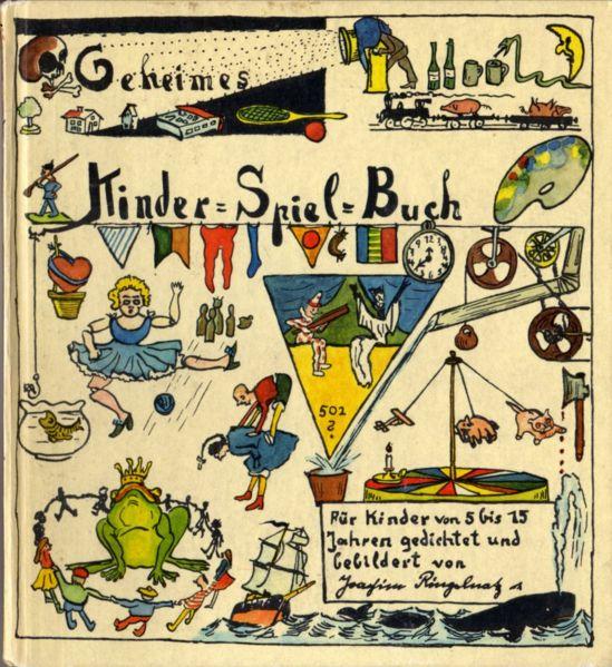 Kinderbuch von Ringelnatz