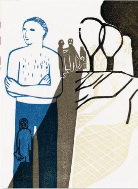 """Illustration von Nicole Riegert zu """"Unter den Hummeln"""""""