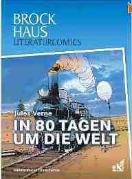 Cover Literaturcomics In 80 Tagen um die Welt